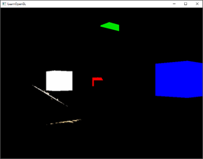 Bright regions extracted of a scene for the bloom or glow post-processing effect in OpenGL