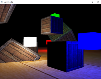 Image of a HDR scene where we need to add the bloom or glow effect in OpenGL