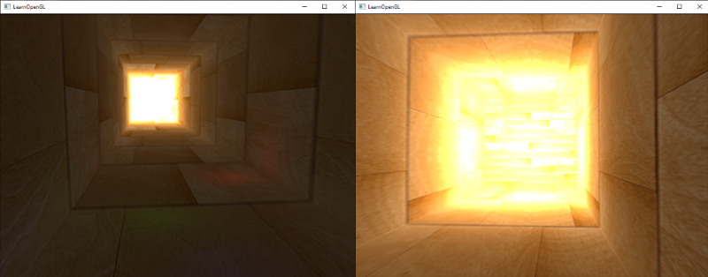 Direct rendering of floating point color values to the default framebuffer without tone mapping.