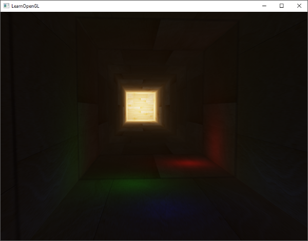 Reinhard tone mapping algorithm applied with HDR rendering in OpenGL
