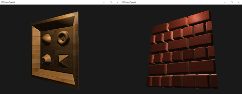 Image of Parallax Occlusion Mapping in OpenGL