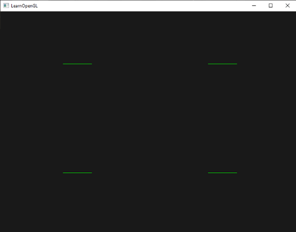 Drawing Lines Using Opengl : Geometry shader learn opengl