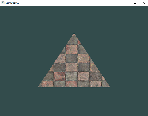 In Order To Map A Texture The Triangle We Need Tell Each Vertex Of Which Part It Corresponds